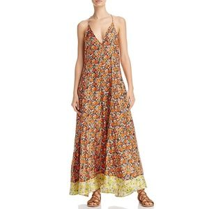 NWT Rebecca Taylor Maxi Dress 4 Moonlight Garden S
